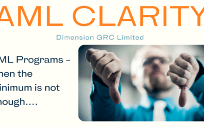 AML Clarity Newsletter – April 15th